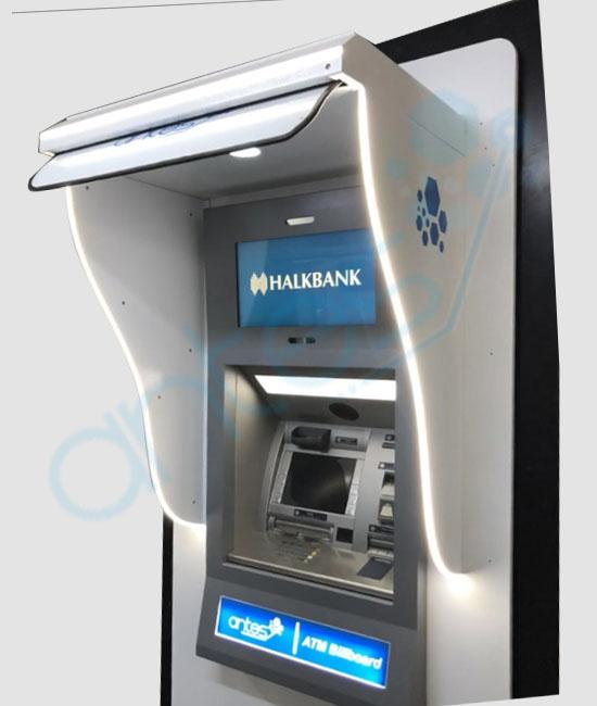 ATM Güneşliği, Siperliği
